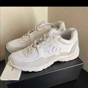Chanel Sneakers size 42 white size 9